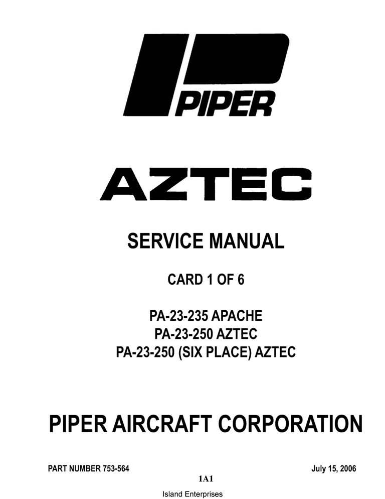 Piper Aztec F Manual