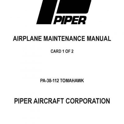 Piper Malibu PA-46-310P /& 46-350P Maintenance Manual