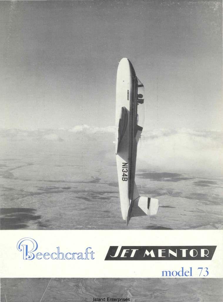 Beechcraft Jet Mentor Model 73 Operating Instructions