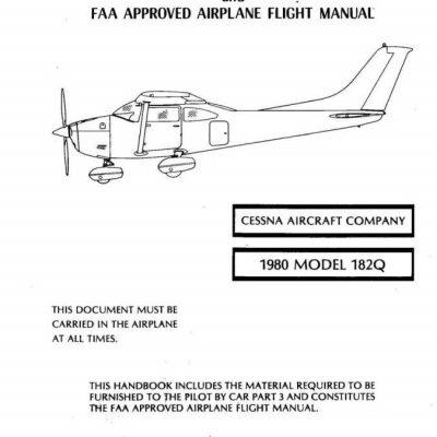 Cessna 421C Golden Eagle Pilot Operating Handbook and