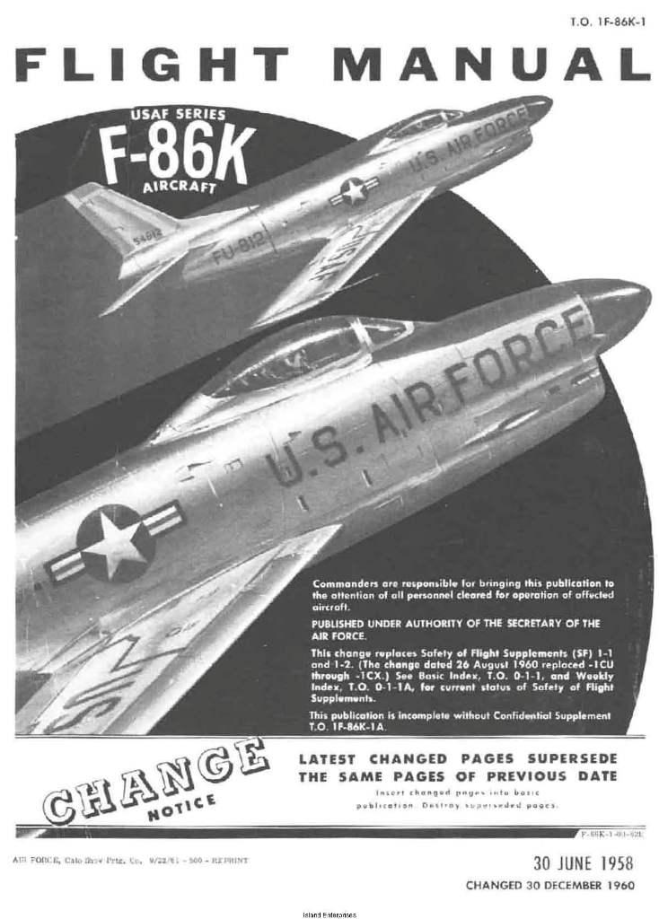 f 86k flight manual for cessna