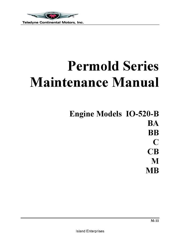 Io 520 parts Manual