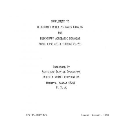 Beech 33 35 36 Maintenance    Manuals    Archives
