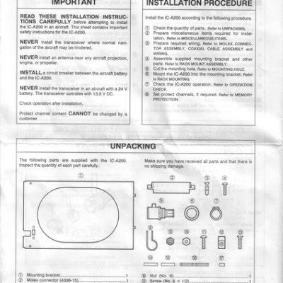 garmin gtx 330 installation manual