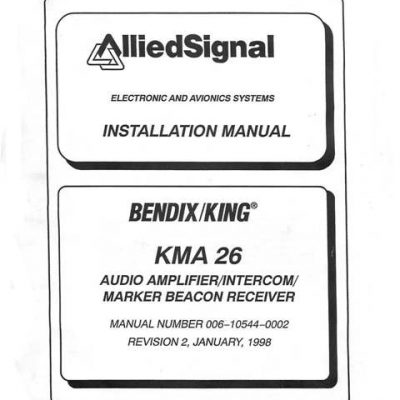 King Kns 80 Installation Manual